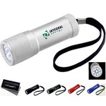 Custom Imprinted 1 Day Service 9 LED Flashlights