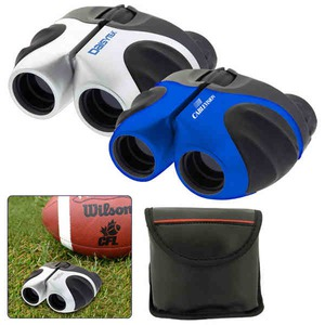 Custom Imprinted 1 Day Service Binoculars with Rubberized Grips