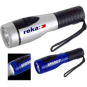 Custom Imprinted 1 Day Service Flashlights and Cell Phone Chargers