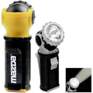 Custom Imprinted 1 Day Service Flashlights with Swivel Heads