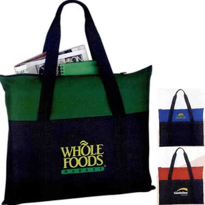 Personalized 1 Day Service Flexar Canvas Tote Bags!