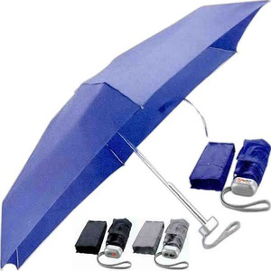 Custom Printed 1 Day Service Folding Umbrellas with Matching Color Sleeves