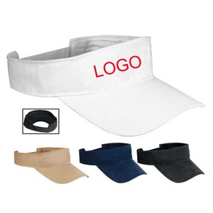 Custom Imprinted 1 Day Service Heavyweight Visors!