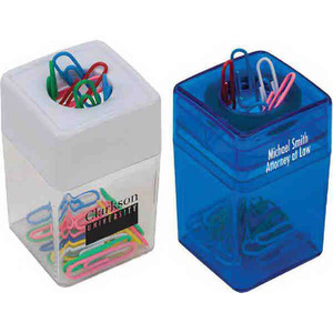 1 Day Service Desk Accessories - 1 Day Service Magnetic Wheel Paperclip Dispensers