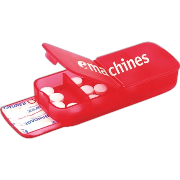 Personalized 1 Day Service Pill Cases and Pill Cutters