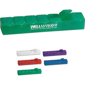 1 Day Service Health and Beauty Items - 1 Day Service Pill Holders