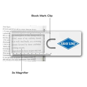 1 Day Service Desk Accessories - 1 Day Service Plastic Bookmark Clips