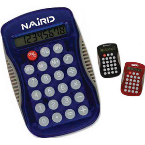 Custom Imprinted 1 Day Service Pocket Calculators!