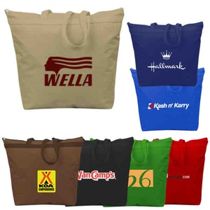 Custom Made 1 Day Service Recycled Tote Bags