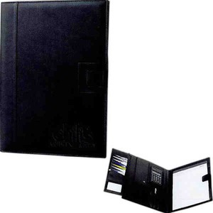 Custom Imprinted 1 Day Service Simulated Leather Memo Pad Portfolios