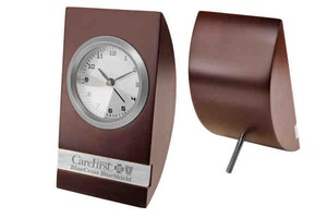 Custom Imprinted 1 Day Service Wood Analog Clocks