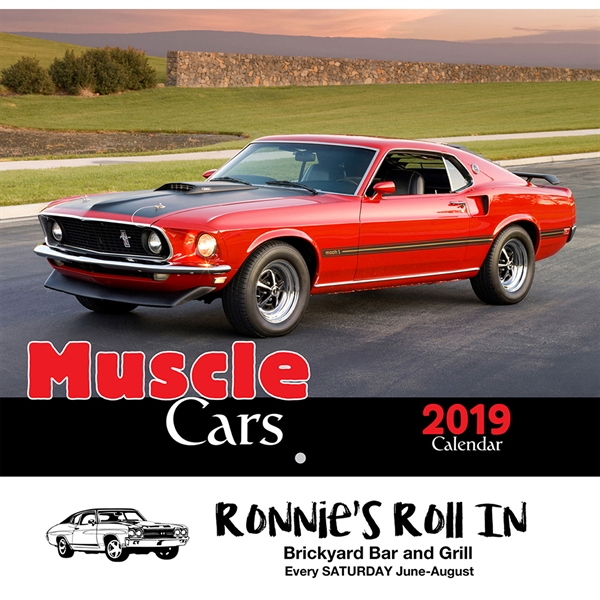 Appointment Calendars - Muscle Cars Appointment Calendars