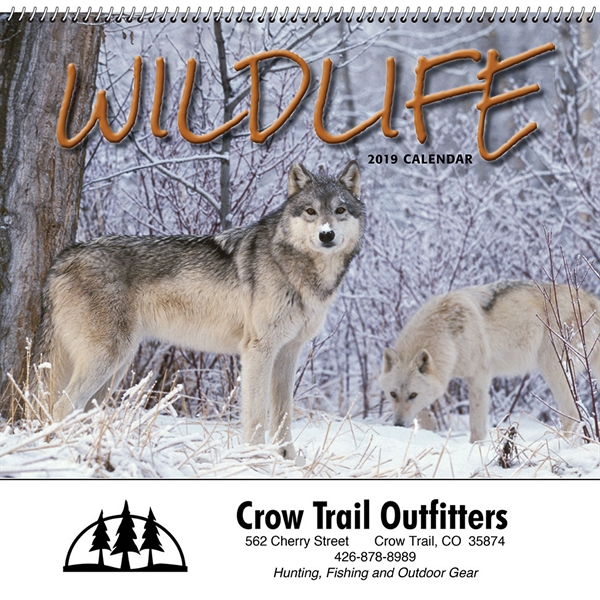 Custom Printed Art of Wildlife Executive Calendars!