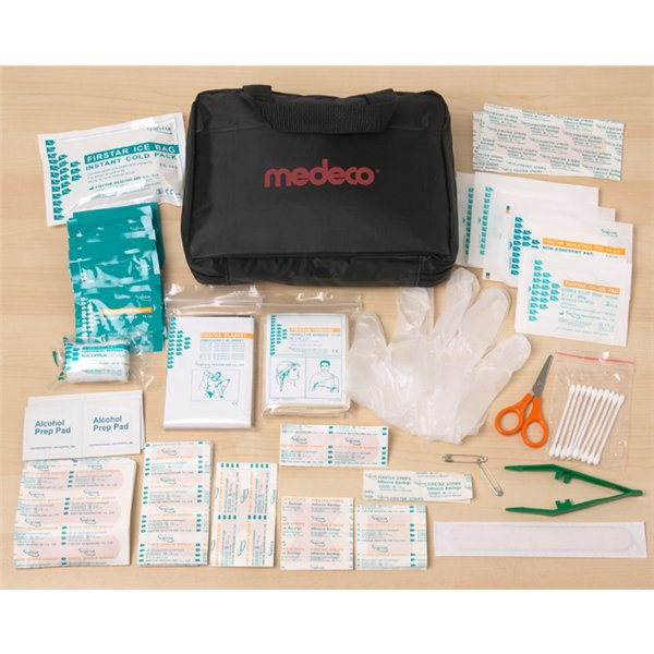 Custom Imprinted Canadian Manufactured 133 Piece All Purpose First Aid Kits!