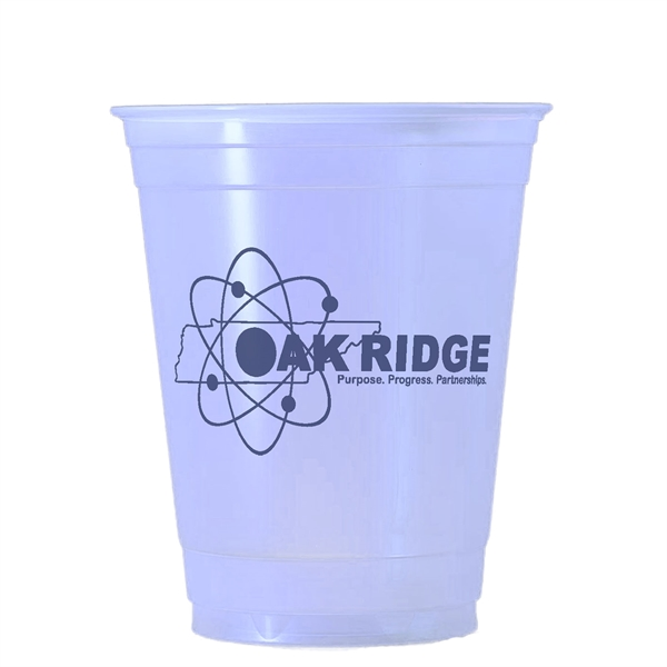 Custom Decorated Disposable Translucent Cups!