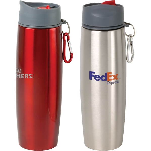 Canadian Manufactured Water Bottles - Canadian Manufactured 16oz. Duo Insulated Tumblers And Water Bottles