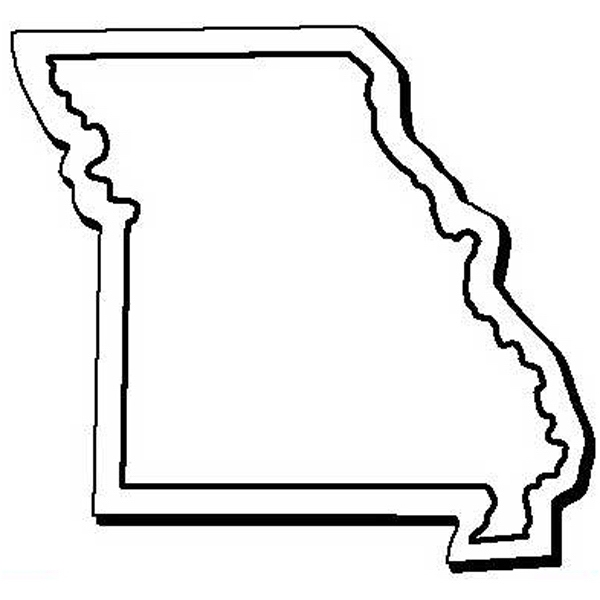 Custom Imprinted Missouri Shaped Magnets!