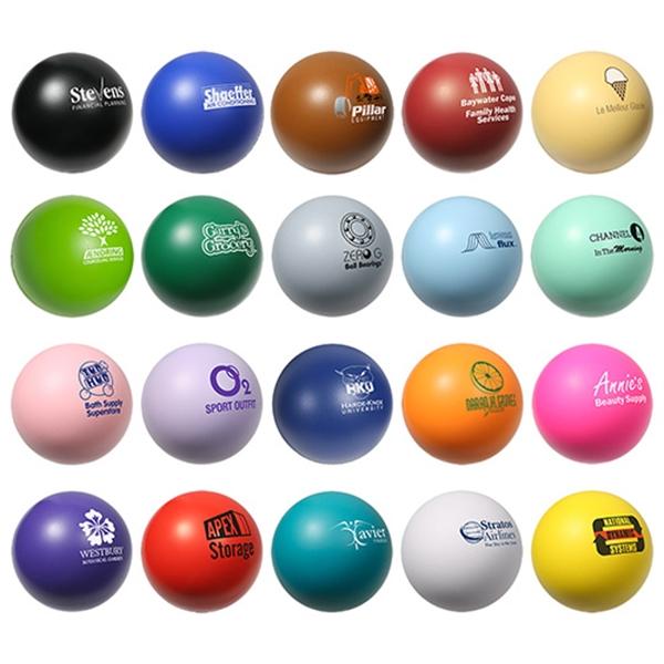 Custom Decorated Purple Color Stress Balls!