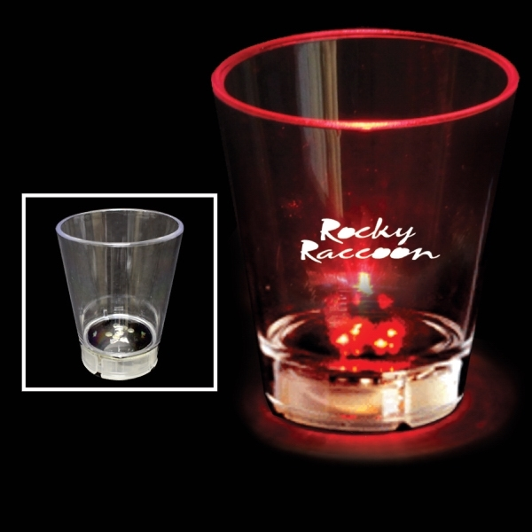 Glass and Plastic Shot Glasses -