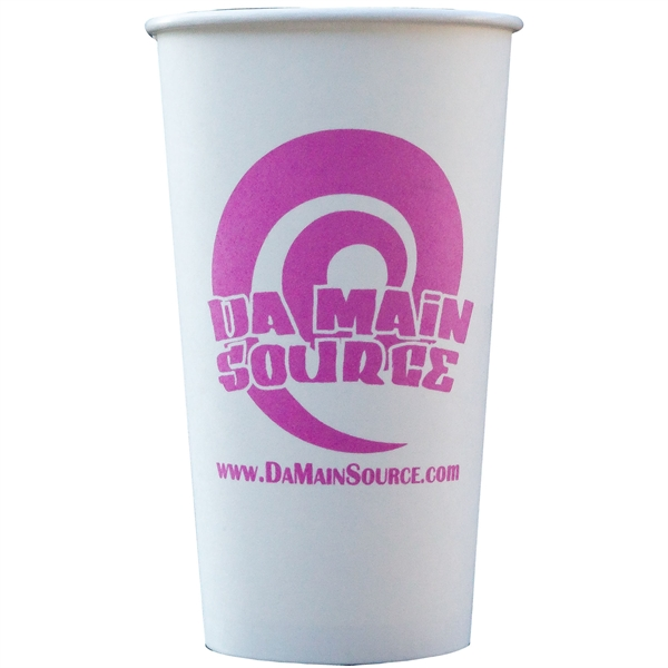 Custom Printed Disposable Hot and Cold Paper Cups!