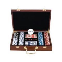 Custom Printed 200 Chip Collectable Poker Sets!