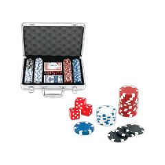 Custom Decorated 200 Chip Professional Poker Sets!
