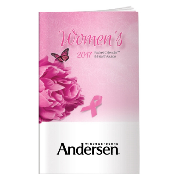 Custom Imprinted Breast Cancer Awareness Monthly Planners!