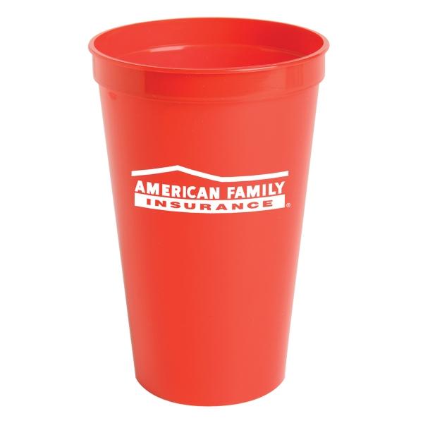 Custom Imprinted 22oz. Stadium Cups For Under A Dollar!