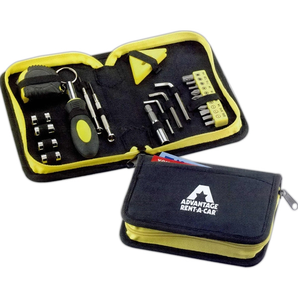 Custom Printed Tool Kits with Zippered Pouches!