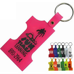 Key Tags - Number One Shaped Key Tags