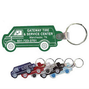 Key Tags - Van Shaped Key Tags