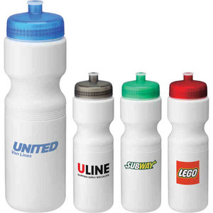 Custom Decorated 28oz. BPA Free Plastic Co Poly Sports Bottles!