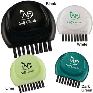 Custom Imprinted 3 Day Service 2-in-1 Golf Club Brushes