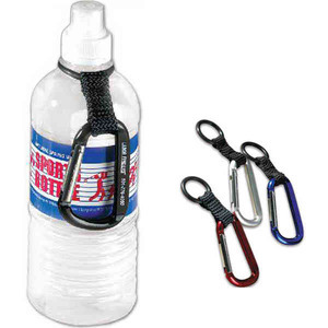 Customized 3 Day Service Carabiner Water Bottle Holders