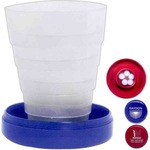 Custom Printed 3 Day Service Collapsible Cups with Pill Holders!