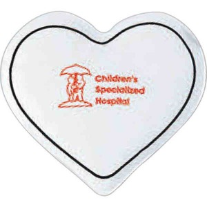 Custom Imprinted 3 Day Service Heart Shaped Cold Packs