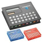 Custom Imprinted 3 Day Service Pocket Solar Calculators