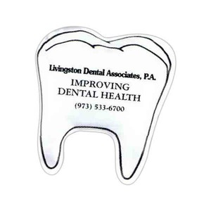 Custom Imprinted 3 Day Service Tooth Shaped Cold Packs