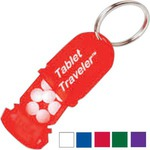 Custom Printed 3 Day Service Traveler Pill Key Chains!
