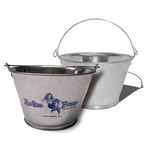 Custom Imprinted 3 Quart Tin Buckets