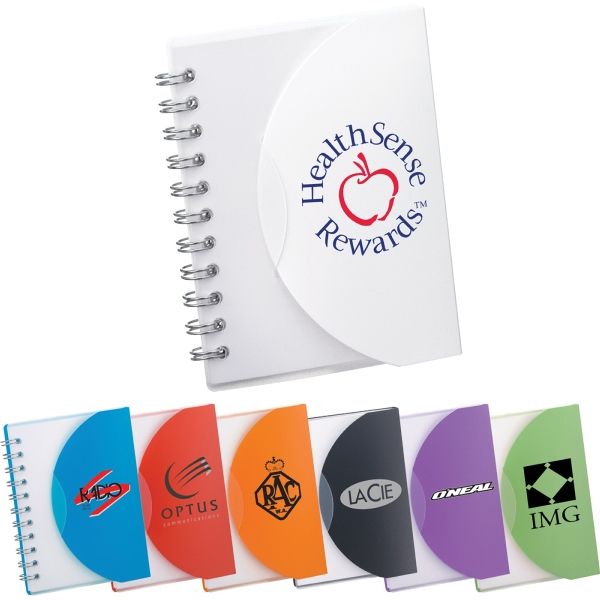 Custom Imprinted 1 Day Service Junior Sized Spiral Notebooks