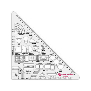 Rulers Measuring Devices - 30/60 Triangle Rulers