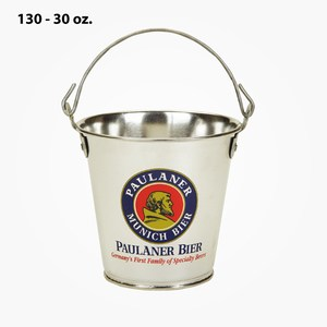 Custom Imprinted 30oz. Tin Buckets