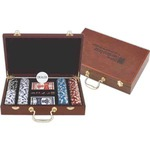 Custom Imprinted 300 Chip Professional Poker Sets