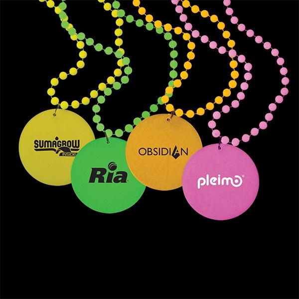 Custom Decorated Mardi Gras Beads!
