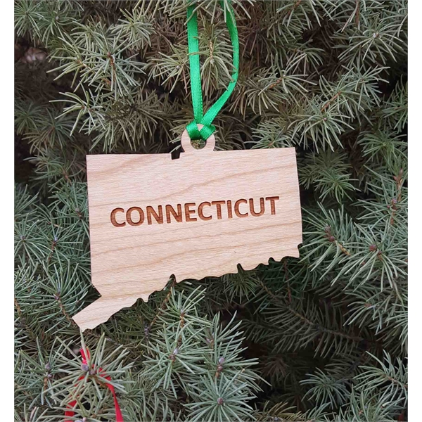 State Shaped Ornaments -