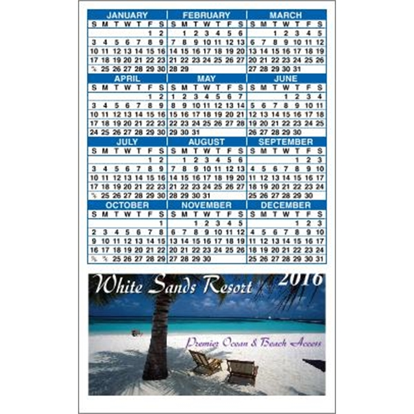 Canadian Manufactured Calendar Magnets -