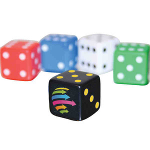 Custom Imprinted 5/8 Inch Dice
