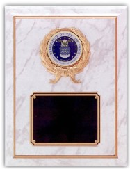 Custom Imprinted Department of the Air Force Plaques!