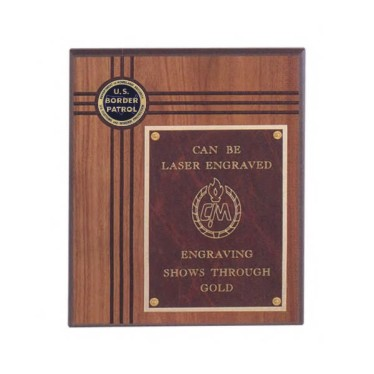 Custom Imprinted Department of Homeland Security US Border Patrol Plaques!